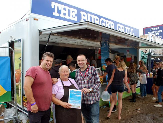 Family run burger van wins top prize in Reading Festival catering awards